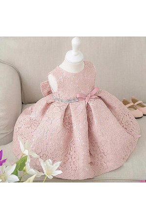 Newchic Girl Sleeveless Big Bow Dress