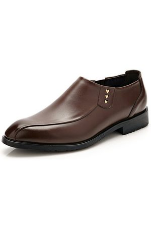 Newchic Men Formal Shoes - Men Pointed Toe Slip On Business Shoes