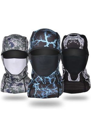 Newchic Men Hats - Camouflage Hat Full-protection Face Mask