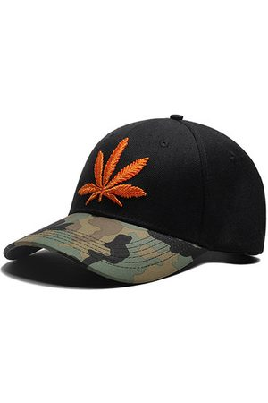 Newchic Men Caps - Camouflage Maple leaves Baseball Cap