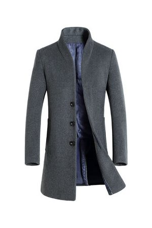 Newchic Mid-long Casual Wool Trench Coat
