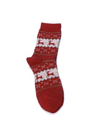Newchic Santa Christmas Stockings Elk Christmas Socks