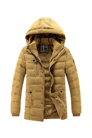 Newchic Mens Winter Multi Pockets Coats
