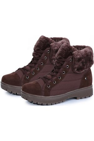 Newchic Women Snow Boots - Plush Lining Nubuck Leather Winter Boots