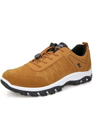 Newchic Men's Elastic Laces Outdoor Casual Sneakers