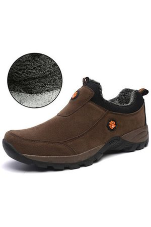 Newchic Men Synthetic Wearable Outdoor Plush Lining Walking Shoes