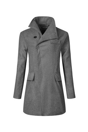 Newchic Mid-long Business Casual Trench Coat
