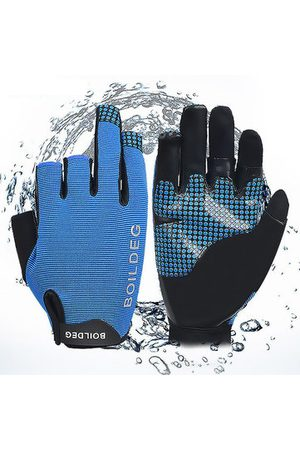 Newchic Dew Three Finger Anti-slip Fishing Outdoor Row Gloves
