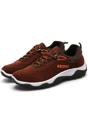 Newchic Men Outdoor Shoes - Men Wear-resistant Sole Hiking Sneakers