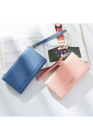 Newchic Women Bags - PU Leather All-match Long Wallet Mobile Phone Bag