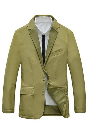 Newchic Men Blazers - Business Suits Solid Color Fit Blazers for Men