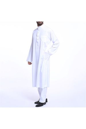 Newchic Muslim Middle East Mens Fashion Robes Suit