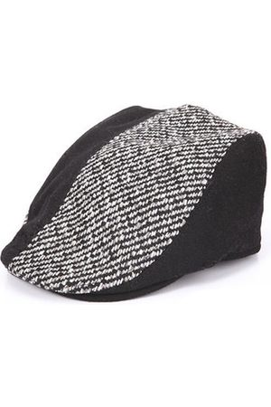 Newchic Men Caps - Multi Color Woolen Stripe British Style Beanie Cap