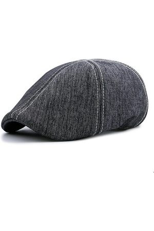 Newchic Grey Cotton Retro Beret Cap