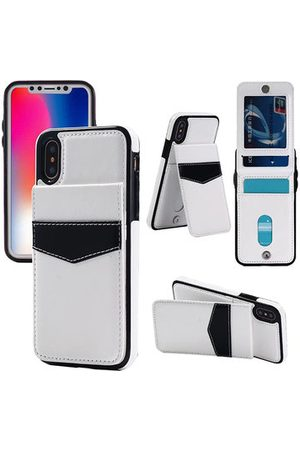 Newchic Women Phone Cases - Business Phone Case For iPhone Three Card Slots Card Holder