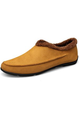 Newchic Men Casual Shoes - Men Plush Lining Non-slip Casual Slippers