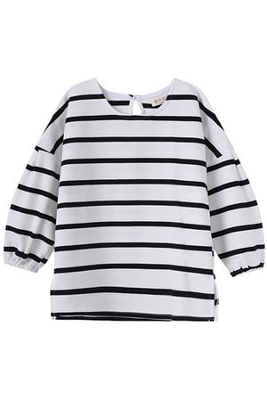 Newchic Black and White Stripe Girls T-Shirts