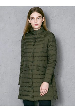 Newchic Single Breasted Winter Down Coats