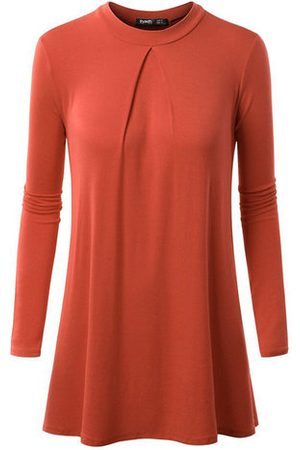 Newchic Women T-shirts - Pure Color Bottoming Modal T-shirts