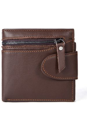 Newchic Vintage Genuine Leather Business Wallet For Men
