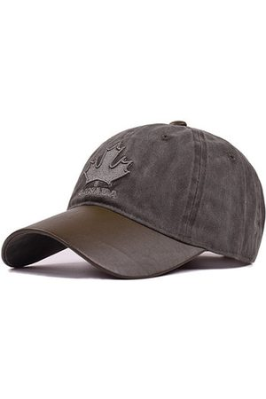 Newchic Cotton Vintage Maple leaves Baseball Cap
