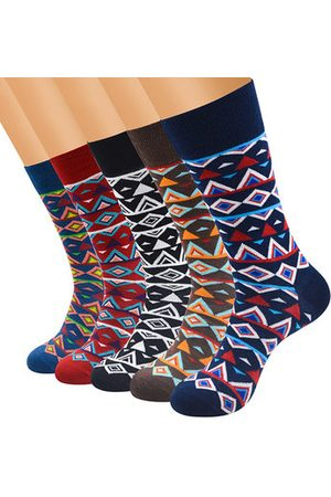Newchic Men Socks - Men's Classical Colorful Combed Cotton Business Socks