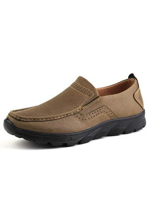 Newchic Men Old Beijing Style Casual Shoes