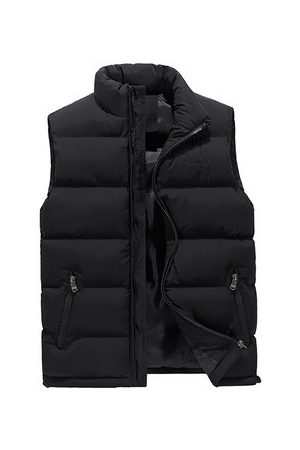 Newchic Men Vests & Camis - Solid Color Quilted Vest