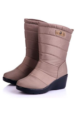 Newchic Down Cloth Wedges Snow Boots