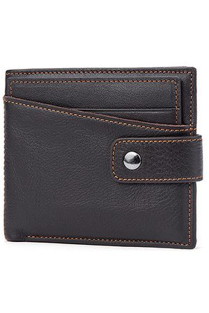 Newchic Men Wallets - Vintage Genuine Leather Card Holder Wallet Coin Bag For Men