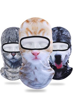 Newchic 3D Cat Animal Sunshade Bicycle Full Face Mask Hat