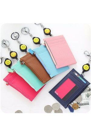 Newchic Women Card Holder Portable Lovely Purse Coins Bag