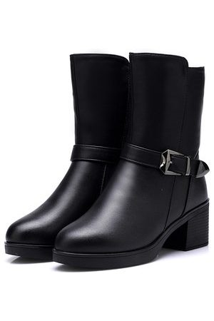Newchic Women Boots - Buckle Knight Boots