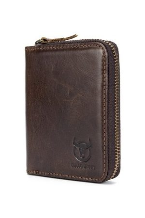 Newchic BULLCAPTAIN Genuine Leather 10 Card Slots Wallet