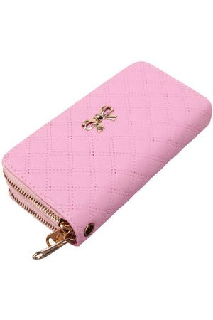 Newchic Women Beautiful Bowknot Pattern Clucth Long Wallet