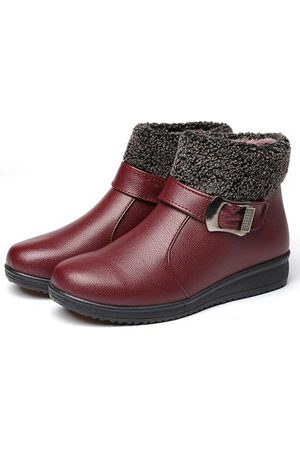 Newchic Buckle Comfortable Casual Boots