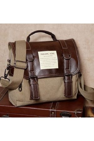 Newchic Vintage Canvas Casual Multi-function Crossbody Bag Backpack