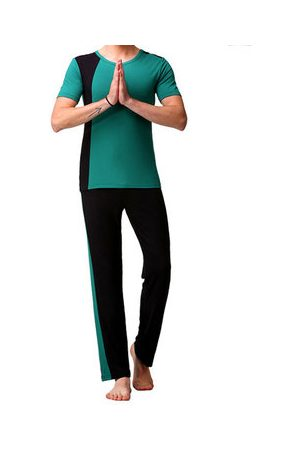 Newchic Men Suits - Mens Size M-3XL Modal Soft Yoga Suit