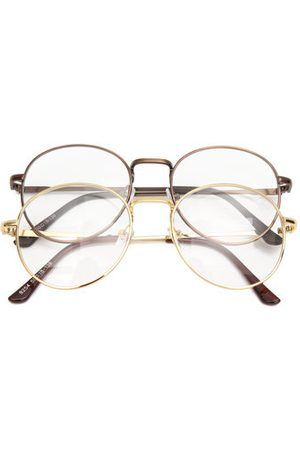 c163eebb68 Newchic Men Sunglasses - Retro Vintage Oval Eyeglasses