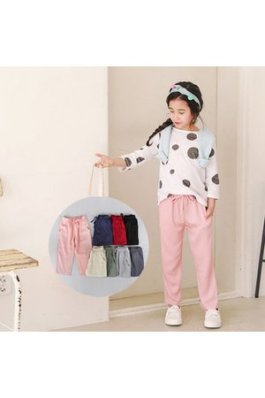Newchic Girls Leisure Solid Color Harem Pants
