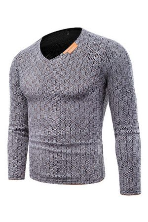 Newchic Men Tank Tops - Warm Knitting Primer Shirt