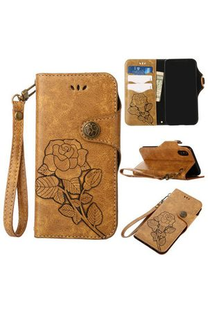 Newchic Women Wallets - Rose Embroidery Card Holder