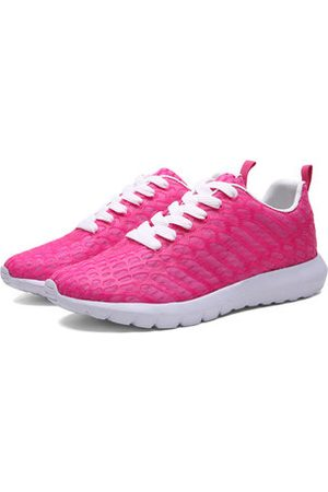 Newchic Men And Women Lovers Shoes Lace Up Casual Sport Shoes Wear-Resisting Running Shoes