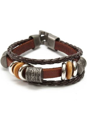 Newchic Casual Multilayer Leather Bracelets