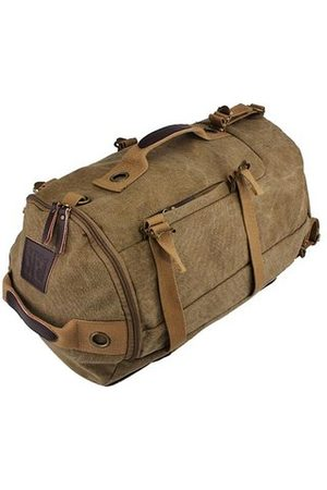Newchic Dual-Use Canvas Bucket Backpack