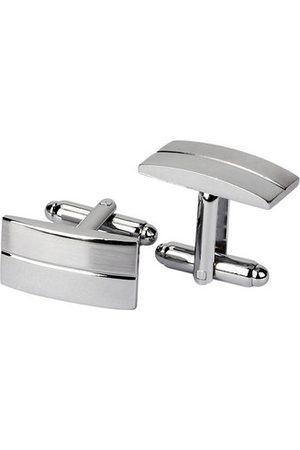 Newchic Men Cufflinks - WSC Men Silver Cufflinks Metal Drawing Smooth Cufflinks For Wedding Decoration Gifts