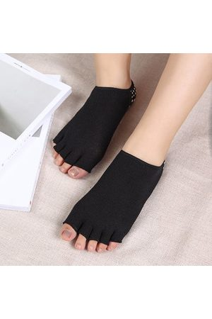 Newchic Women Cotton Socks Exercise Sports Yoga Sock