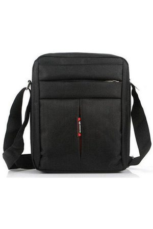 Newchic Men Business Briefcase Messenger Shoulder Bag Durable Nylon Crossbody Bag