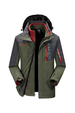 Newchic Men Winter Jackets - Winter Outdoor Detachable Jacket