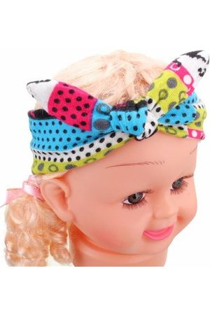 Newchic Kids Girl Cotton Flower Bow Hairband Turban Knot Rabbit Headband Headwear